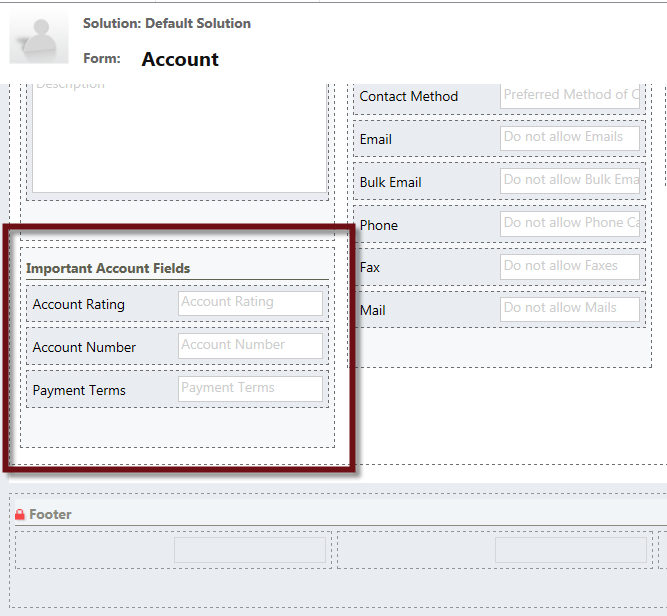 Hide a Section and Fields with Business Rules in Microsoft Dynamics